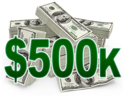 500K Mega Contest NFL Betonline