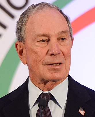 Michael Bloomberg stance on gambling