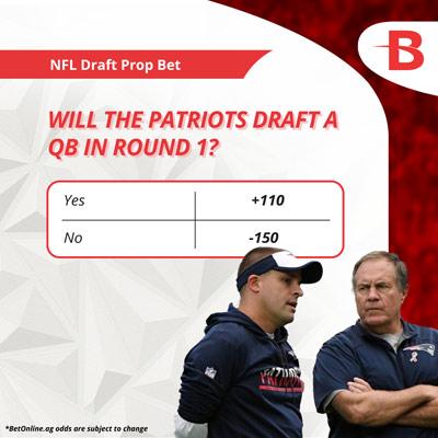 Patriots draft day odds