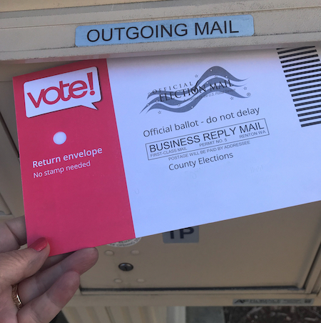 Mail in voting odds to win 2020 US president