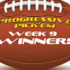 OSGA Progressive Pick 'Em hit again in Week 9