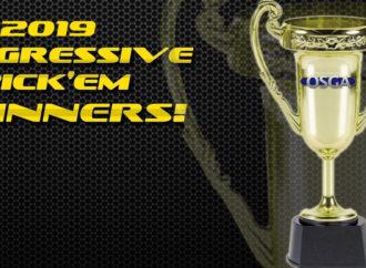 OSGA Announces Winners of 14th Annual Progressive Pick 'Em