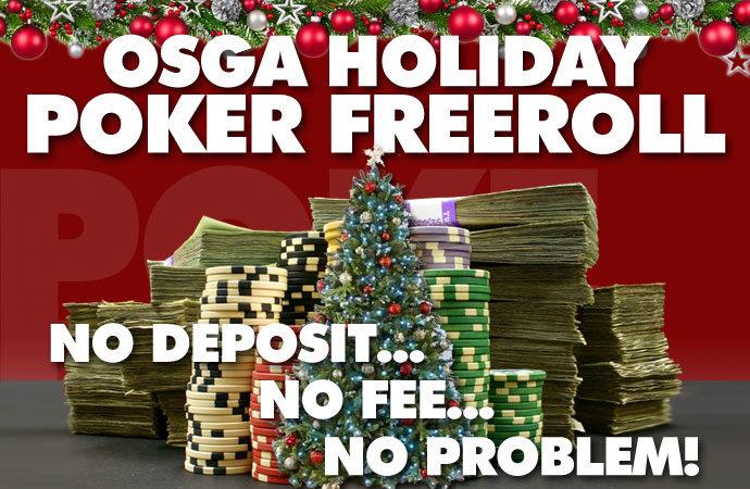 OSGA Holiday Free Roll