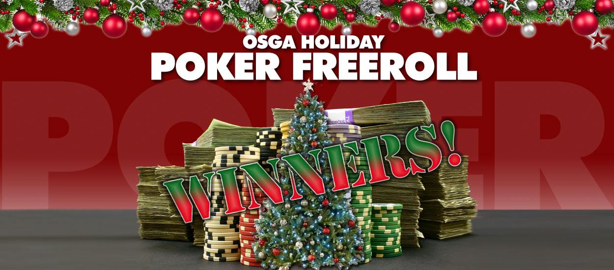 OSGA Holiday Free Roll a Huge Success